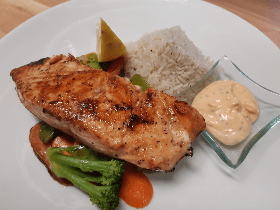 Restaurant Auberge chez Denis à François Havre-Aubert Ulocal produit local achat local Saumon