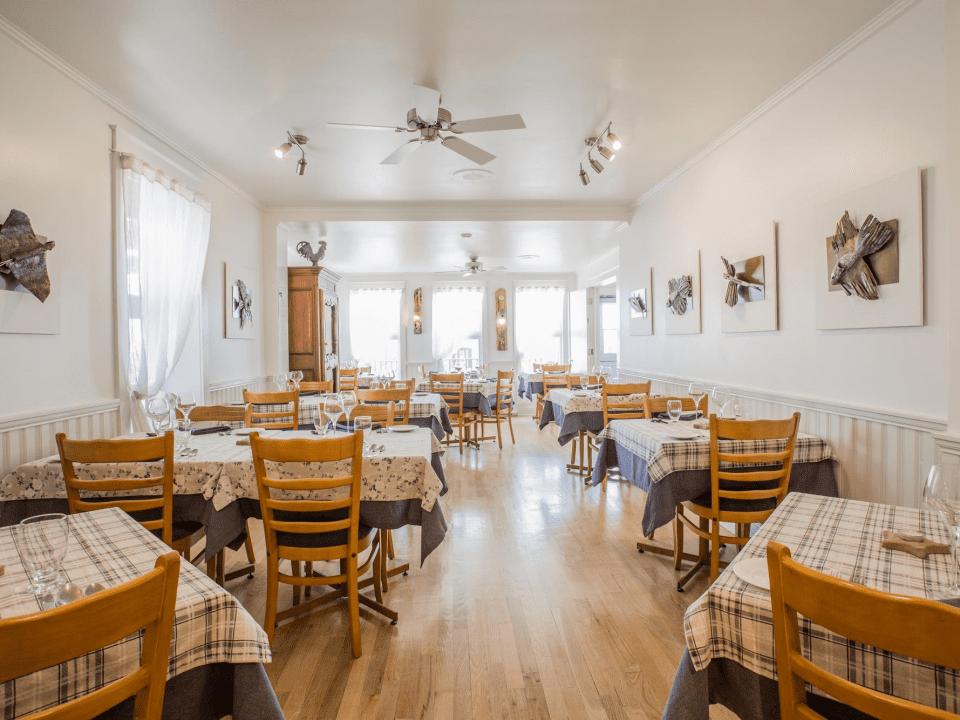 Restaurant Auberge chez Denis à François Havre-Aubert Ulocal produit local achat local