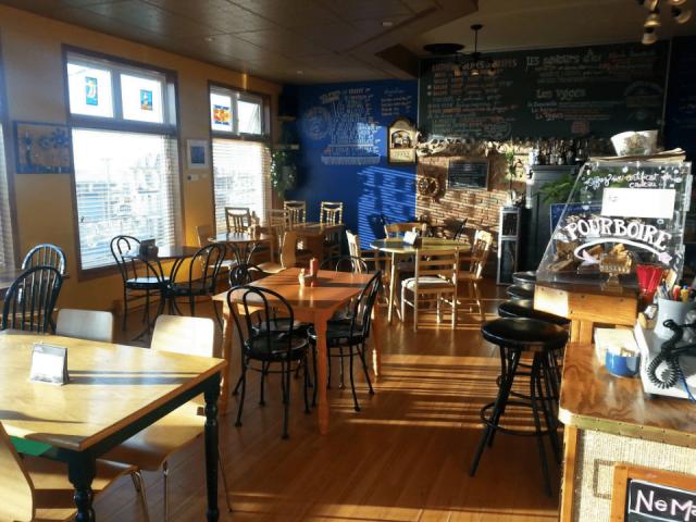 Restaurant Bistro Café d'chez nous Cap-aux-Meules