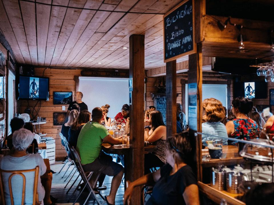 Restaurant Bistro Plongée Alpha Grande-Entrée