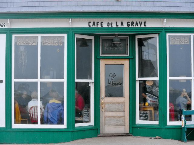 Restaurant Bistro Café de la grave Havre-Aubert