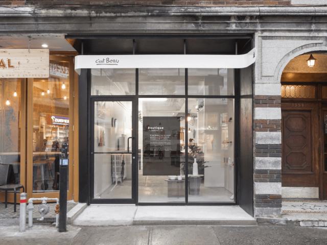 Boutique C'est Beau Montréal Artisans