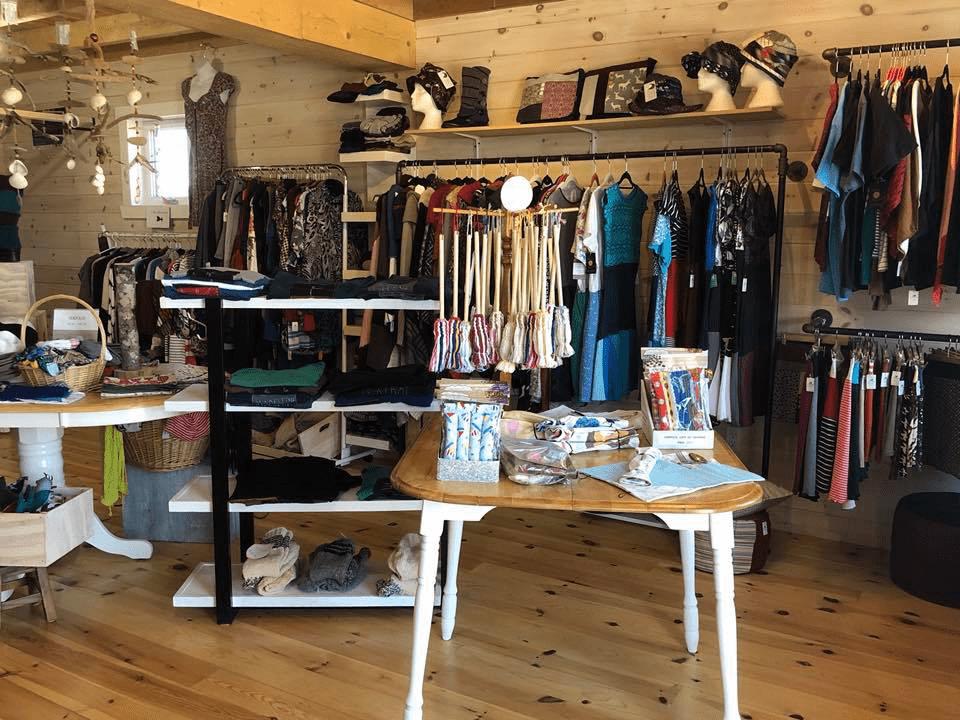 Boutique Coop La Machine Havre-Aubert Chemin de la Grave