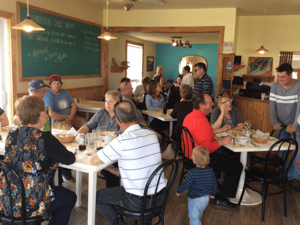 Restaurant Délice de la mer Grande-Entrée