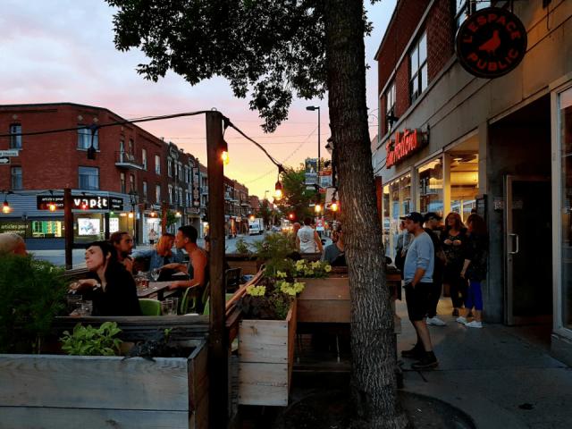 Microbrasserie L'Espace Public Montréal Bières artisanales