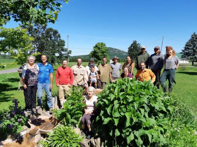 Marché de légume Ferme Cadet-Roussel Mont-Saint-Grégoire
