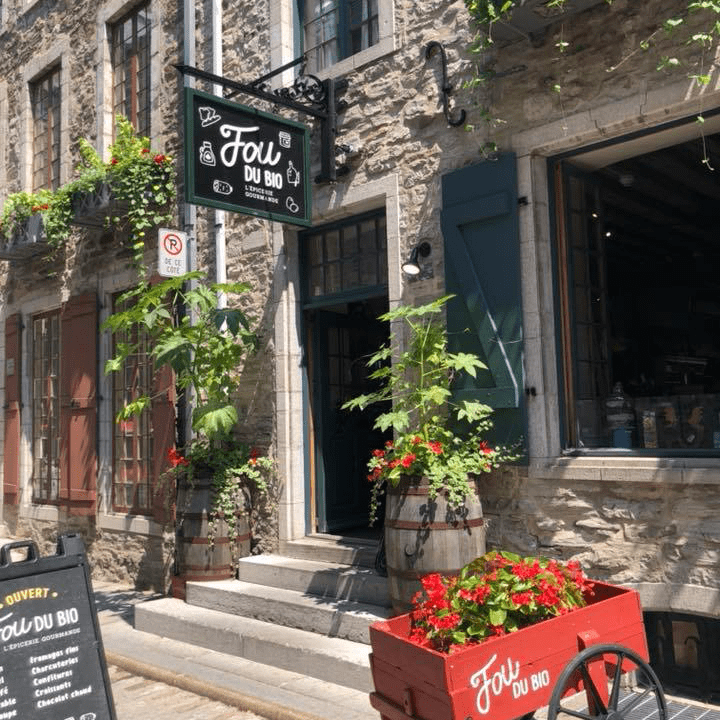 Épicerie Boutique Fou du Bio Québec Ulocal Produit local Achat local