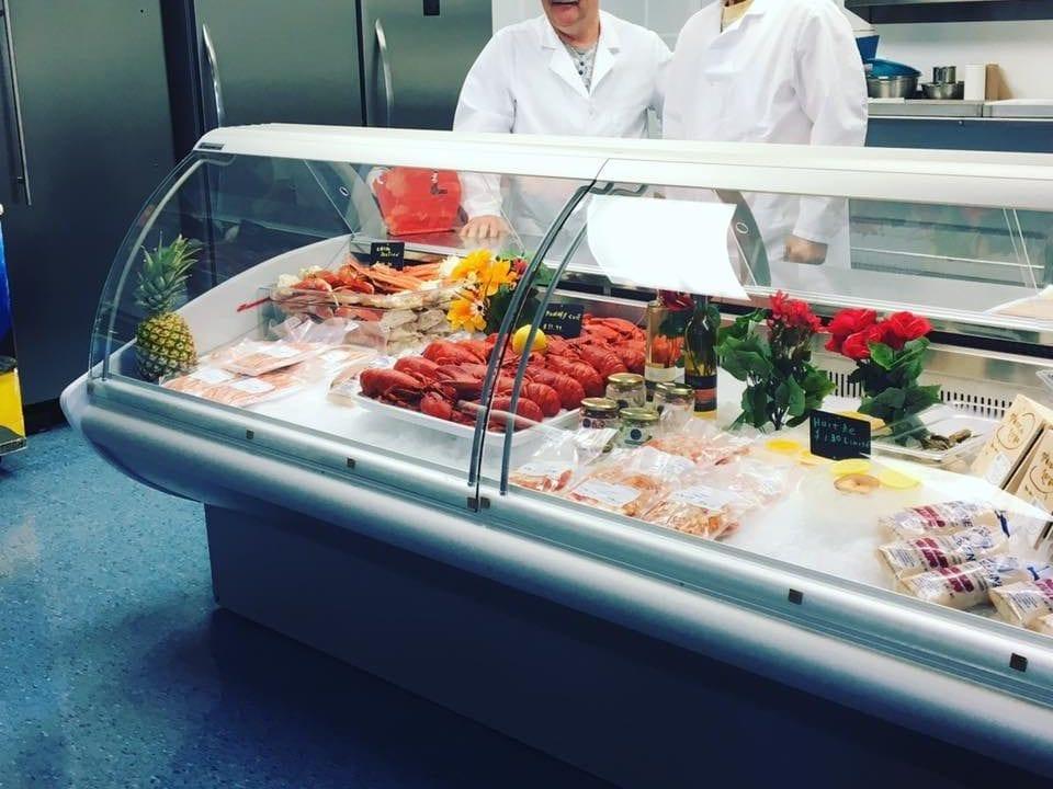 Boutique d'aliments poissonnerie Fruits de mer Madeleine Havre-aux-Maisons Ulocal Produit Local Achat local