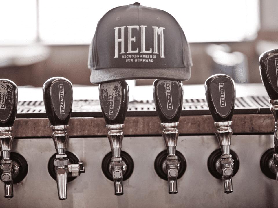Microbrewery HELM Montréal Craft beer