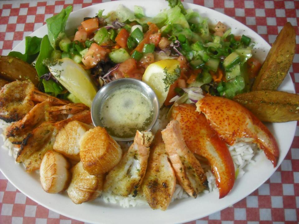 Restaurant La Maisonnée des Îles Havres-aux-Maisons Iles-de-la-Madeleine fruits de mer Ulocal achat local produit local