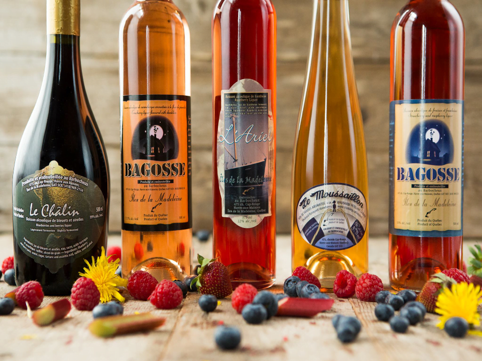 Alcohol Wine and Spiriteux Le Barbocheux Havre-aux-Maisons Iles-de-la-Madeleine Ulocal Local produce Local purchase