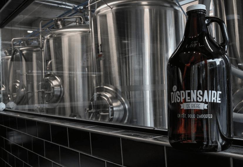Microbrewery Le Dispensaire de Bière Montréal