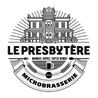 Logo Alcool Restaurant Microbrasserie Le Presbytère Saint-Stanislas-de-Champlain Bière artisanale Québec Ulocal produit local achat local produits du terroir