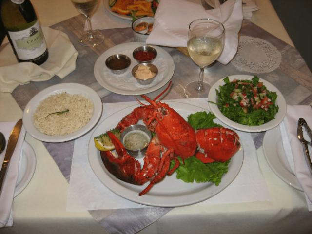 Restaurant Fruits de mer Le Sablier Havre-aux-Maisons Iles-de-la-Madeleine Ulocal Achat local Produit local