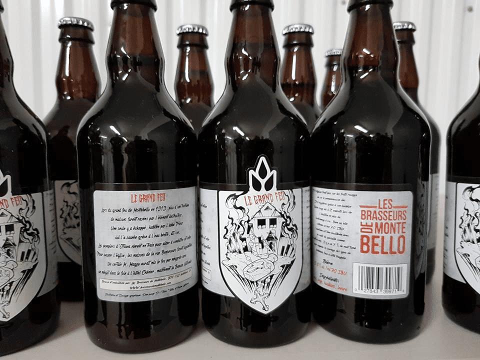 Microbrasserie Les Brasseurs de Montebello Montebello Bières artisanales