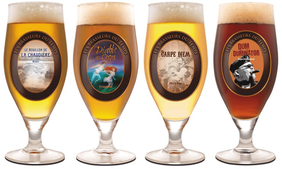 Microbrewery Les Brasseurs du Temps Gatineau Craft beer