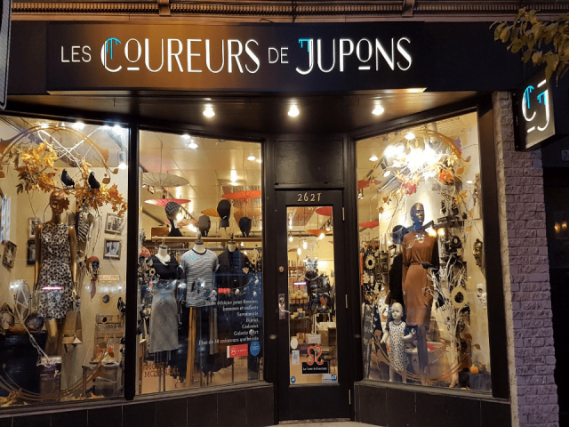 Boutique Les Coureurs de Jupons Montréal