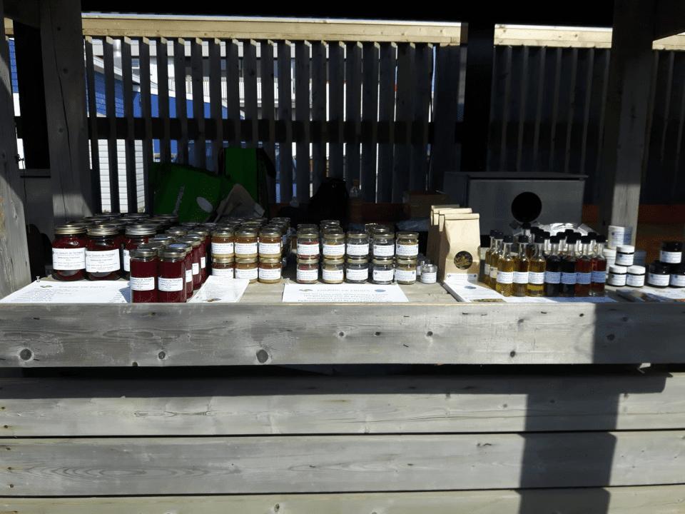 Boutique Les saveurs de l'Archipel Fatima îles-de-la-Madeleine