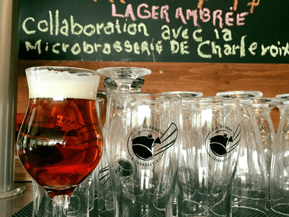 Microbrewery Pie Braque Saguenay Lac-Kénogami Craft beer