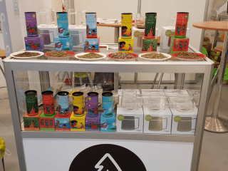 Alimentation thé Biologique Algonquin Tea Company Eganville Ontario Ulocal produit local achat local