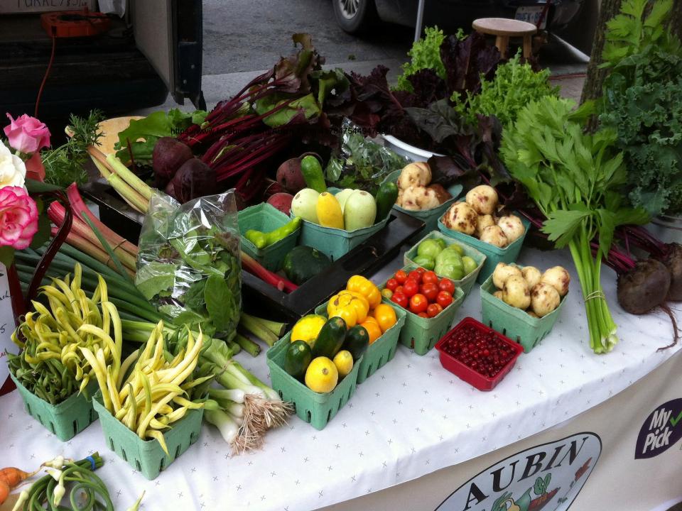 Alimentation marché de fruits et légumes viandes Aubin Farm Spencerville Ulocal produit local achat local