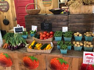 Fruits et légumes Alimentation autocueillette pomme fraises citrouilles Avonmore Ulocal produit local achat local