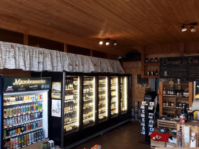 Boutique Alcool Broue & Cie Alma Ulocal produit local achat local