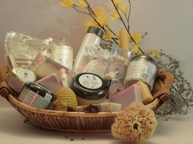 Cosmétiques savon artisanal Douceur de Géraldine Longueuil Ulocal produit local achat local