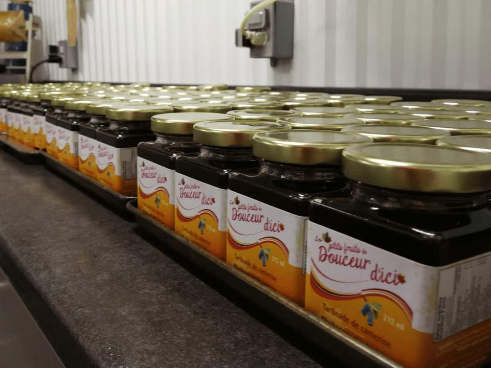 Boutique d'aliments érable Douceur d'Ici Sainte-Rita Ulocal produit local achat local