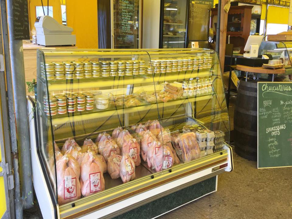 Sale of meat La faisanderie du chasseur Saint-Flavien Ulocal local product local purchase