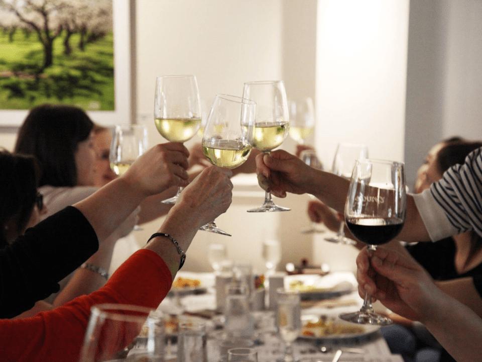 Restaurant vignoble La Grange Saint-Pierre-de-l'Île-d'Orléans Ulocal produit local achat local