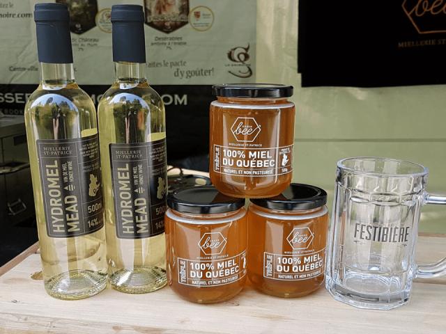 Apiculteur alcool miel Miellerie St-Patrice Saint-Patrice-de-Beaurivage Ulocal produit local achat local