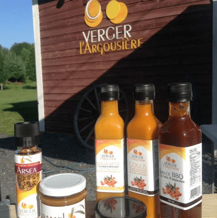 Alimentation Verger l'Argousière Saint-Côme-Linière Ulocal achat local produit local