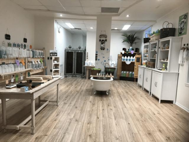 Boutique savons Vrac et Vert Chambly Ulocal produit local achat local