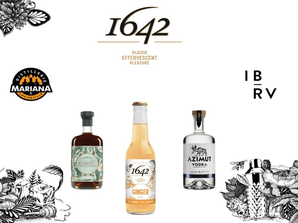 Alcool 1642 Montréal Ulocal produit local achat local