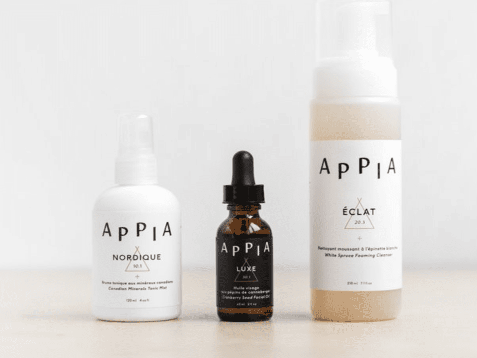 Cosmetic Skin Care Appia Spa Nomade Montreal Ulocal Local Product Local Purchase