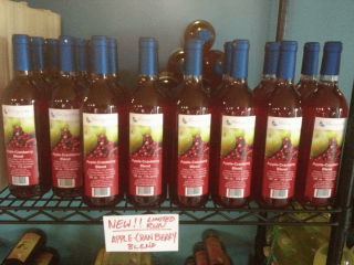 vignoble bouteilles de vin Blue Gypsy Wine Ulocal produit local achat local
