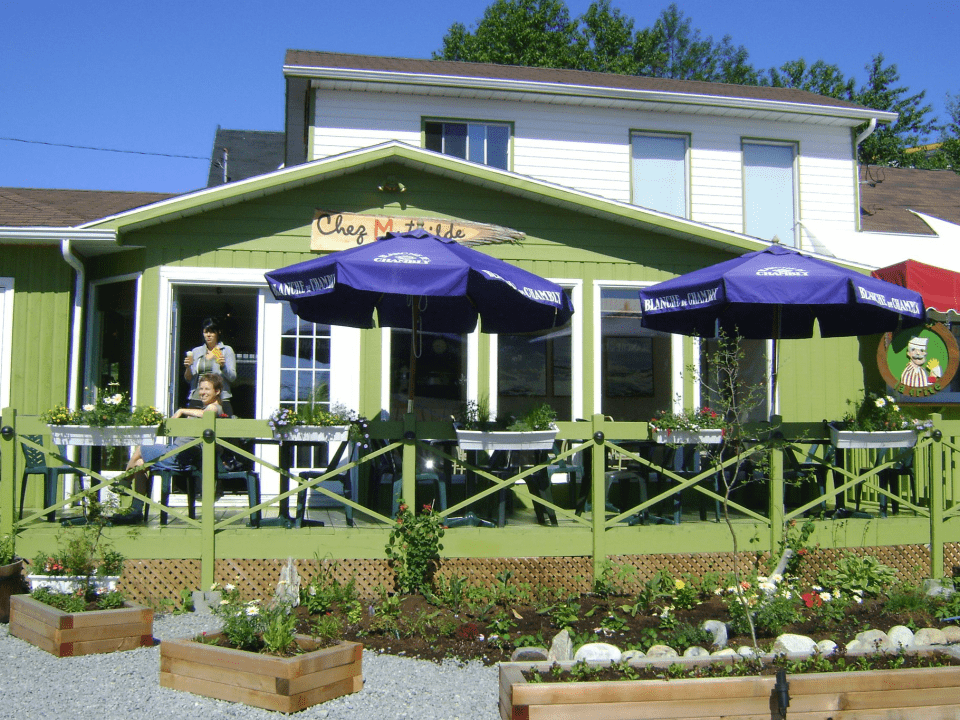 Restaurant Chez Mathilde Bistro Tadoussac Ulocal local product local purchase