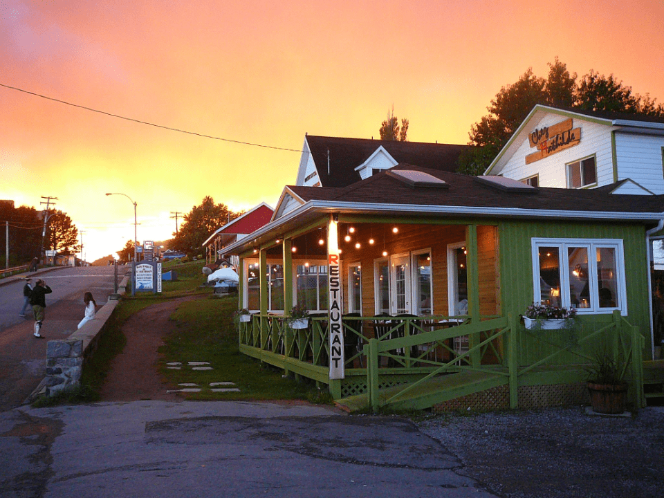 Chez Mathilde Restaurant Bistro Tadoussac Ulocal local product local purchase