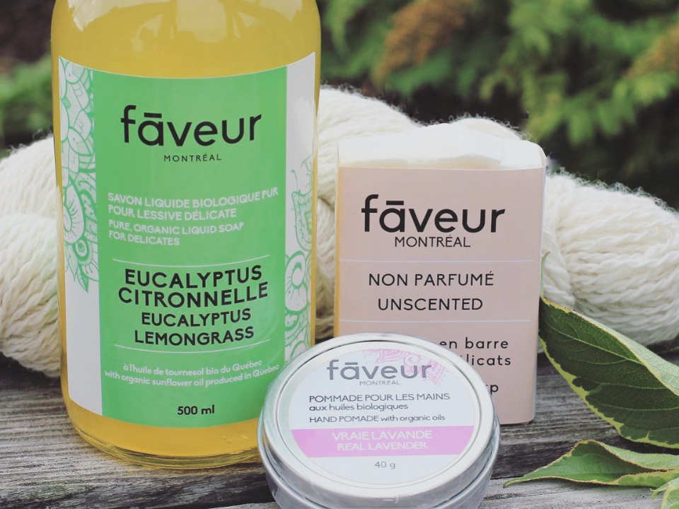Eucalyptus organic products cosmetics handmade soaps household products Favor Montreal Ulocal Cosmetics local product local purchase