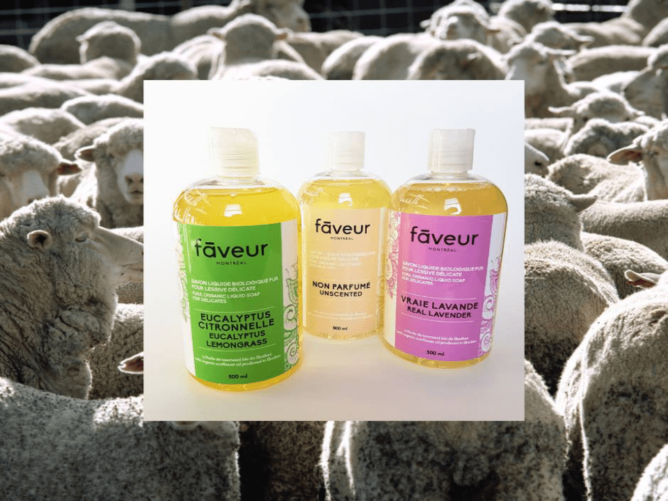 Cosmetics Favor organic soaps Montreal Ulocal local product local purchase