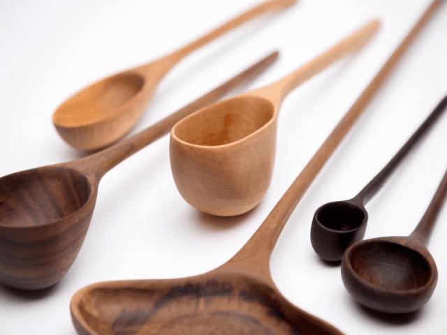 Artisan cuillère et ustensile en bois Lemyre Montréal Ulocal produit local achat local