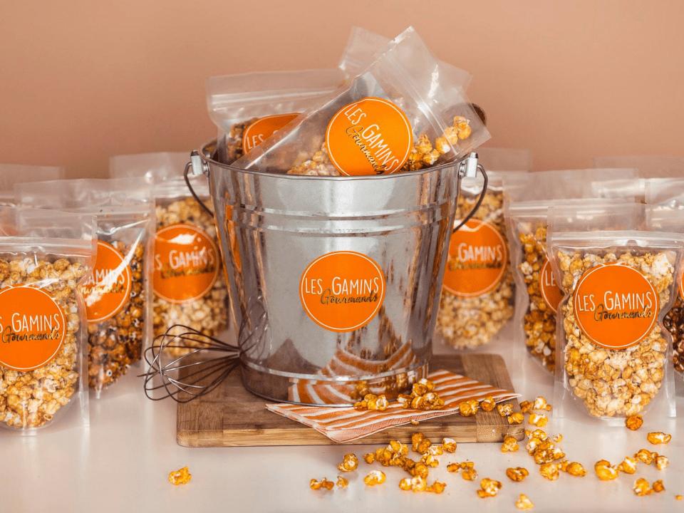 Alimentation Pop corn Les Gamins Gourmands Montréal Ulocal produit local achat local