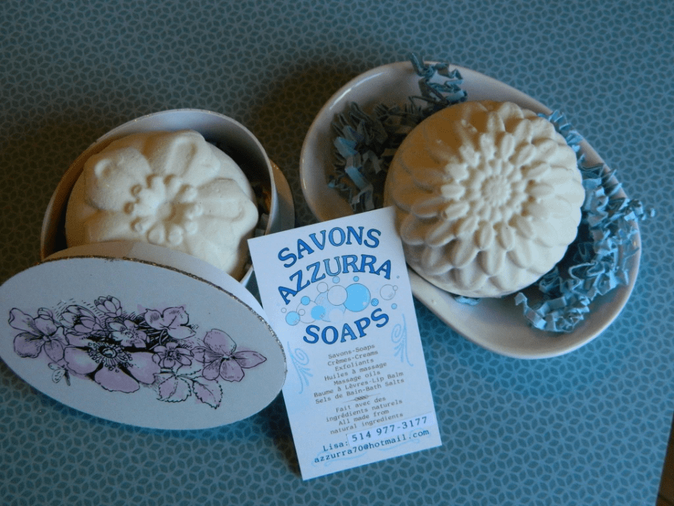 Cosmetics Soaps Azzurra Soaps Montreal Ulocal local product local purchase