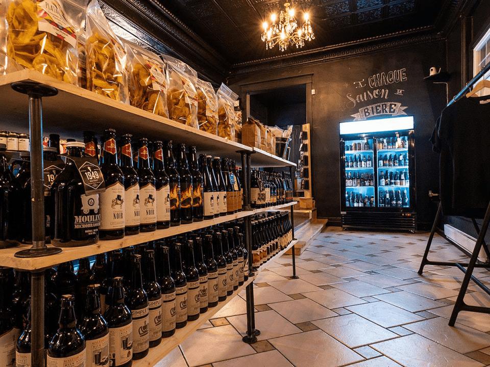 Alcool Bières de microbrasserie Tite Frette Saint-Jean Ulocal produit local achat local