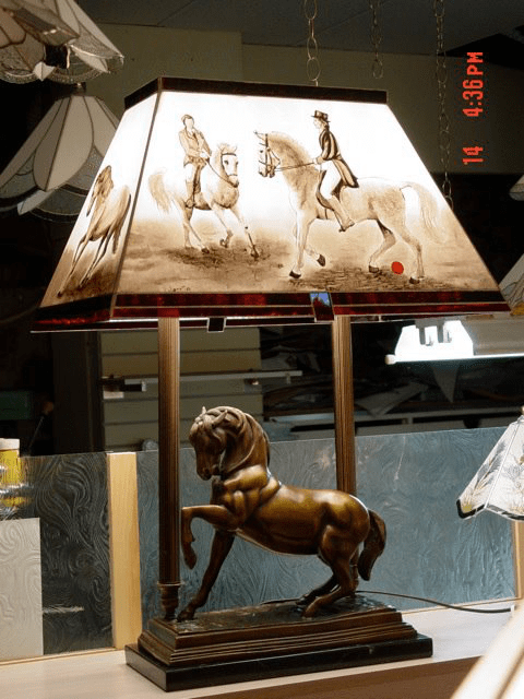 Interior decoration lamp lighting craftsmen Stained Glass Original Saint-Paul Ulocal local product local purchase