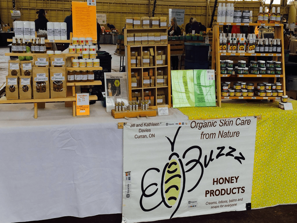 Beekeeping kiosk honey product Buzzz Honey Products Curran Ulocal local product local purchase