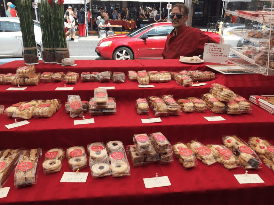 marché kiosque pâtisseries ByWard Market Ottawa Ulocal produit local achat local