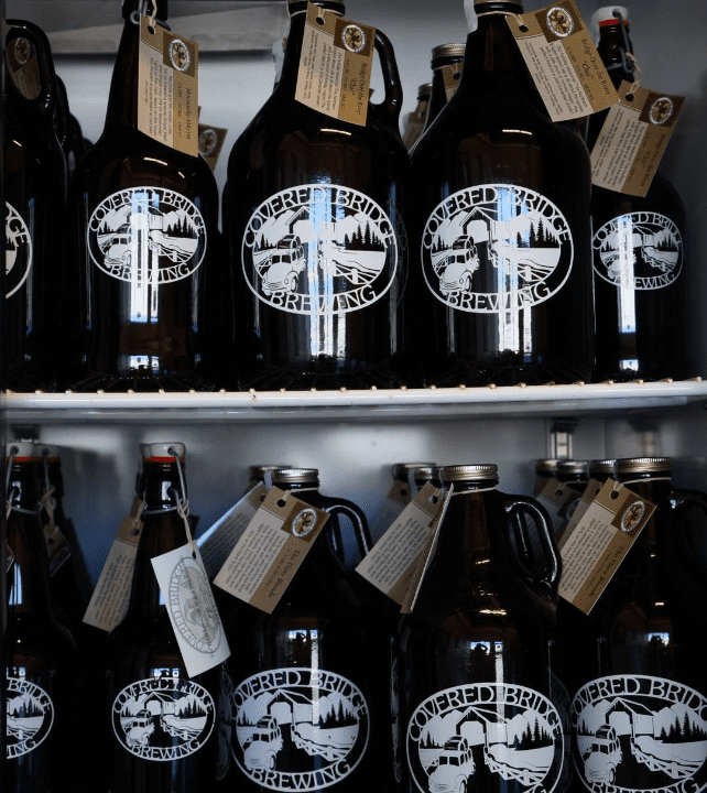 microbrewery growlers beer Covered Bridge Brewing Company Ottawa Ulocal local product local purchase