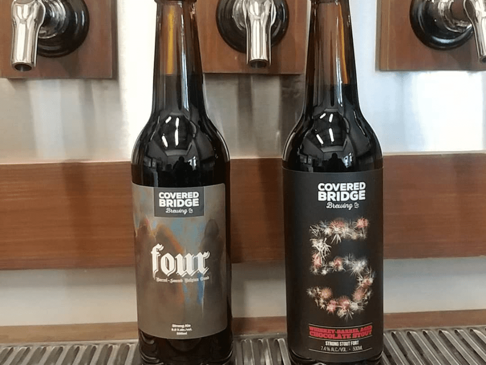 microbrewery beer bottles Covered Bridge Brewing Company Ottawa Ulocal local product local purchase